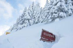 ارتفاع الثلوج مترين في أولوداغ