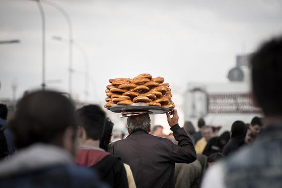 البائع المتجول في تركيا